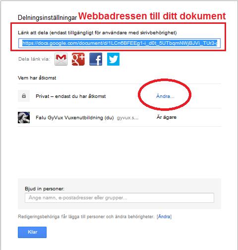 Google Dokument - Google dokument